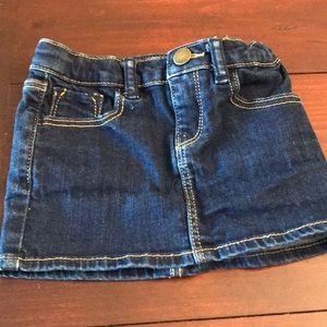 GAP Bottoms - Baby Gap Denim Mini Skirt